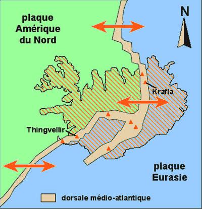 L'Islande terre de volcan