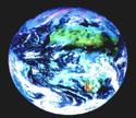Vue de la Terre, prise par le satellite METEOSAT