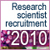 2010 CNRS research scientist recruitment