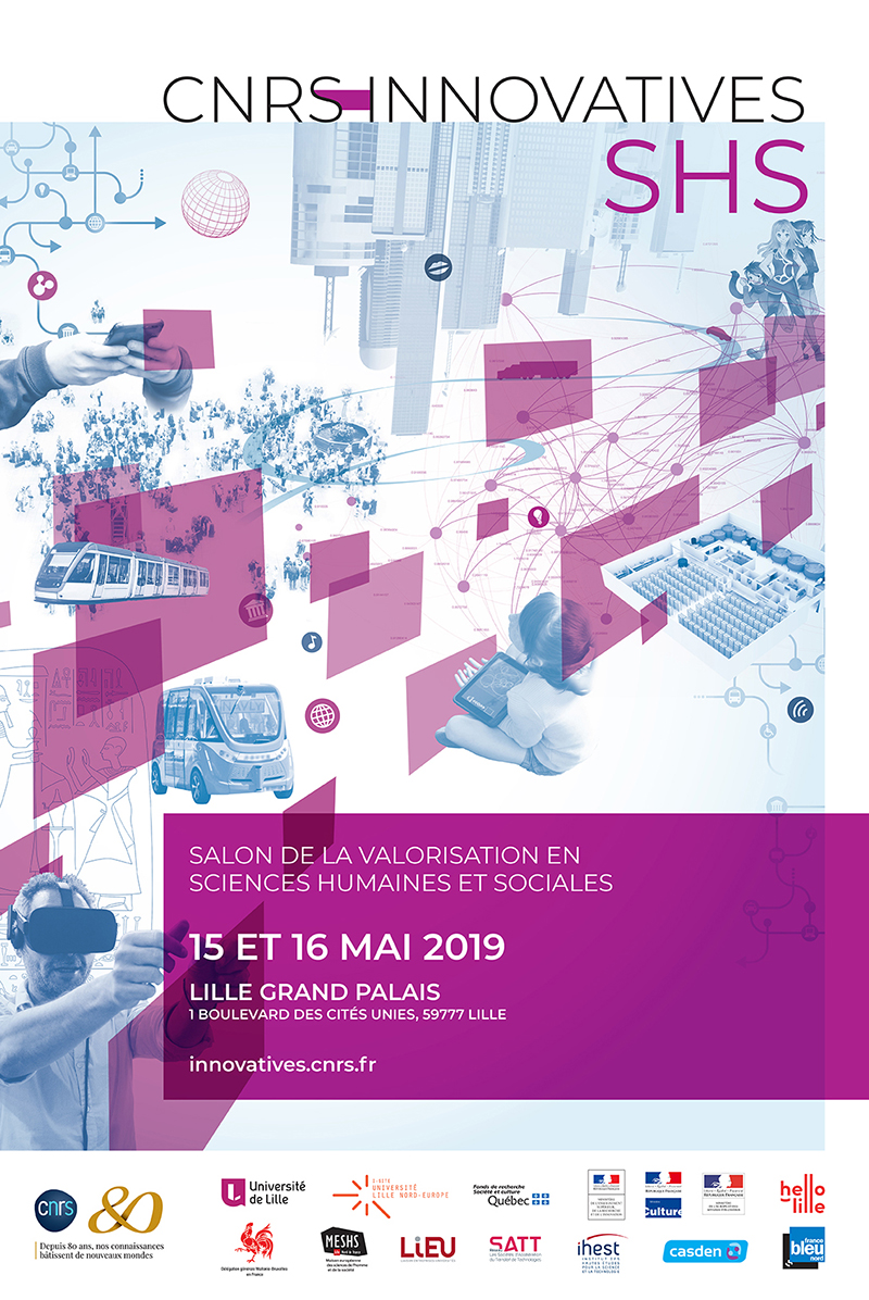 Affiche du salon Innovatives SHS 2019