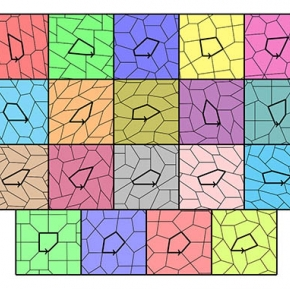 There are only 15 possible pentagonal tiles
