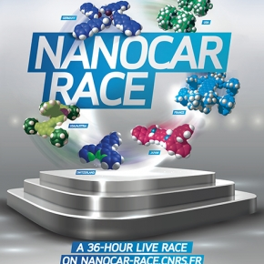 The world's first international race for molecule-cars, the Nanocar Race is on