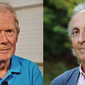 Two CNRS 2017 Gold Medals awarded to physicists Alain Brillet and Thibault Damour